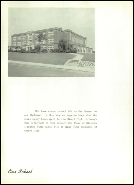 1940 Girard High School Yearbook Page 8