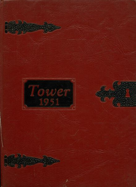 1951 Amherst Central High School Yearbook Cover