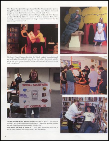 2008 Rib Lake High School Yearbook Page 8
