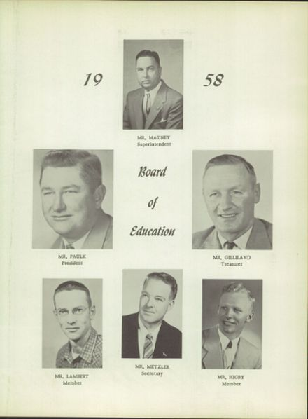 1958 Douglas County High School Yearbook Page 7