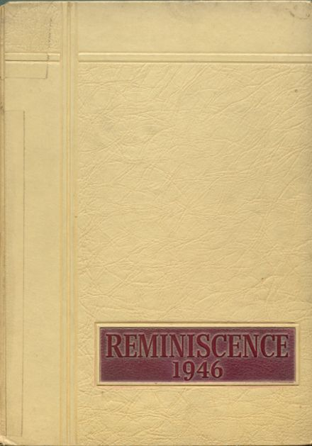 1946 Harrison High School Yearbook Cover