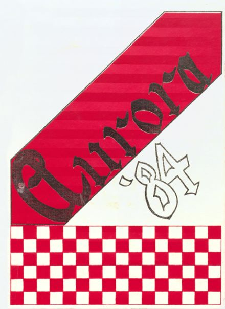 1984 Incarnate Word Academy Yearbook Cover