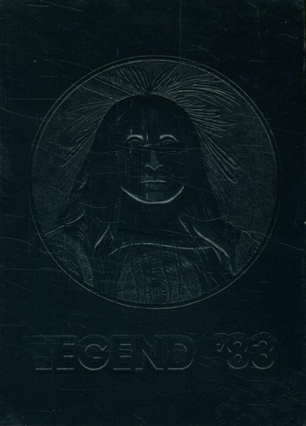 1983 Whetstone High School Yearbook Cover