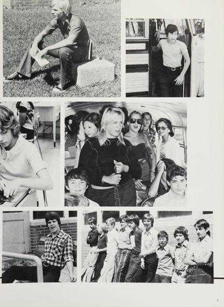 1976 Triton Regional High School Yearbook Page 9