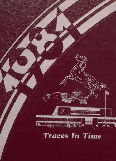 1981 Independence Christian High School Yearbook Cover