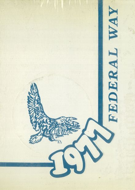 1977 Federal Way High School Yearbook Cover