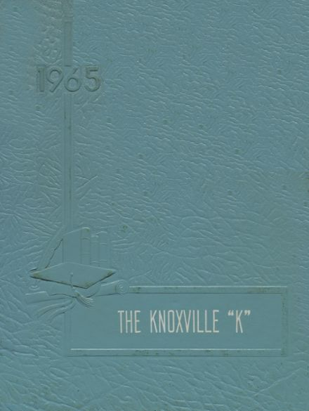 1965 Knoxville High School Yearbook Page 1