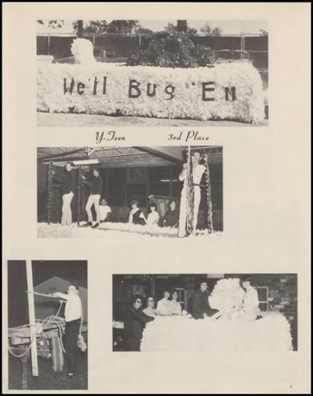 1965 Knoxville High School Yearbook Page 9