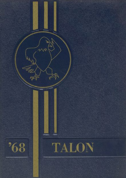 1968 Jefferson Area High School Yearbook Cover