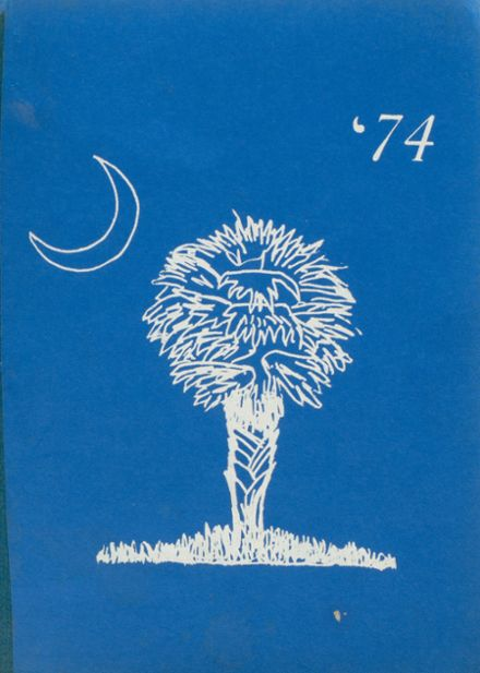 1974 South Carolina School for the Deaf & Blind Yearbook Cover
