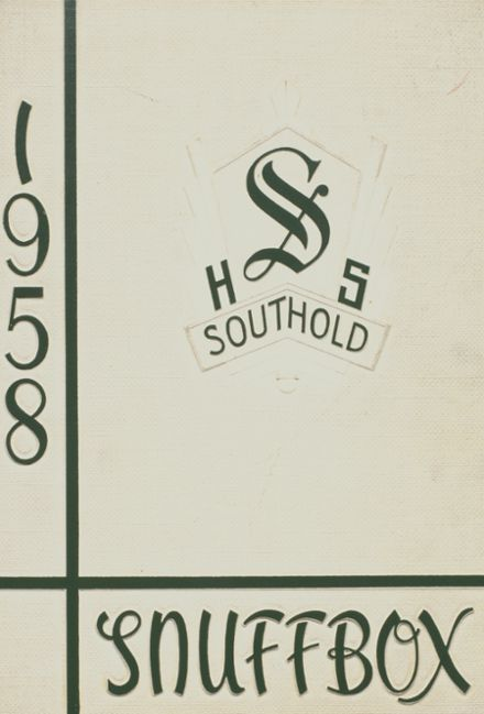1958 Southold High School Yearbook Cover