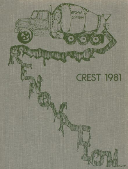 1981 Bryan Station High School Yearbook Cover