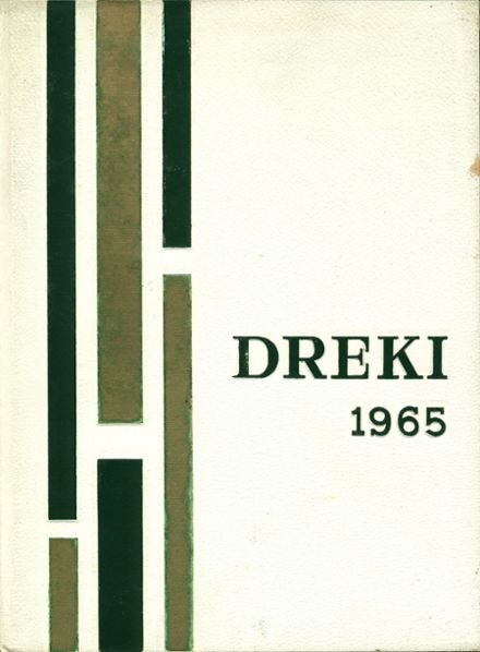 1965 Oxford Hills High School Yearbook Cover