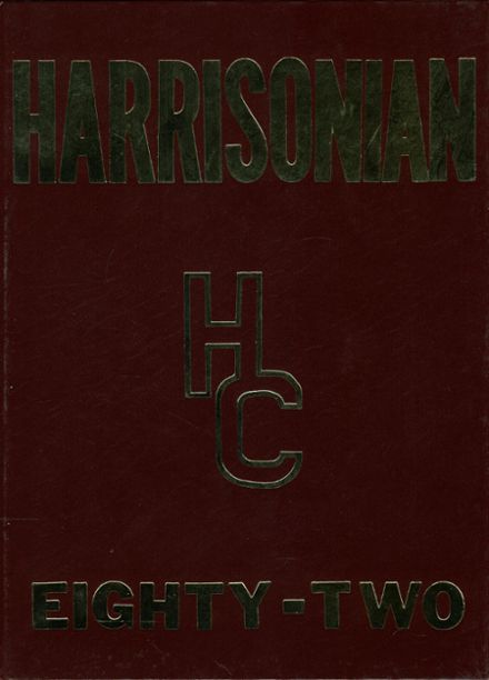 1982 Harrison County High School Yearbook Cover
