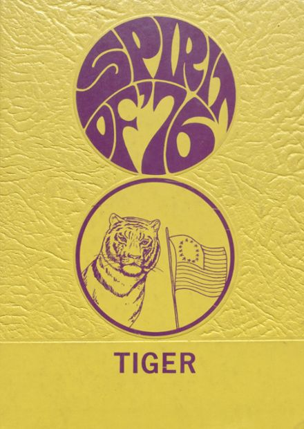 1976 Centreville High School Yearbook Cover