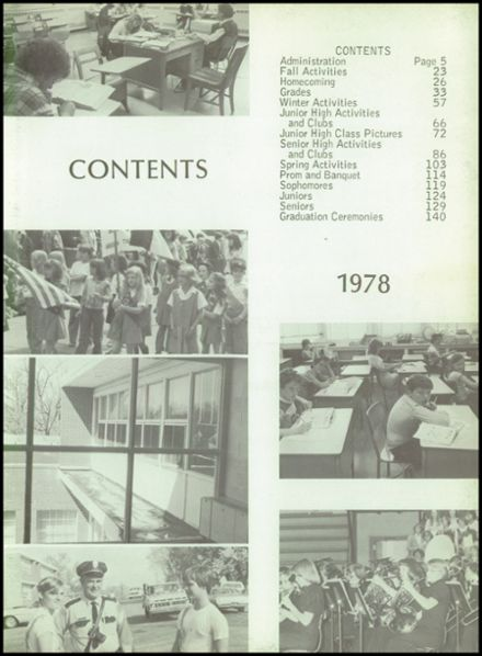 1978 Houston High School Yearbook Page 7
