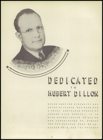 1941 Fowler High School Yearbook Page 7