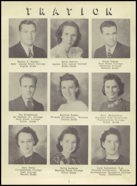 1941 Fowler High School Yearbook Page 9