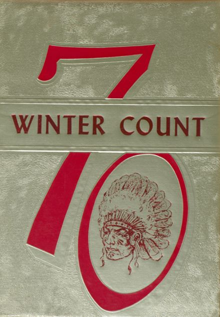 1970 Hoxie High School Yearbook Cover