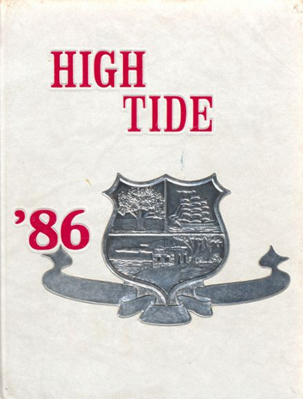 1986 Glynn Academy Yearbook Cover