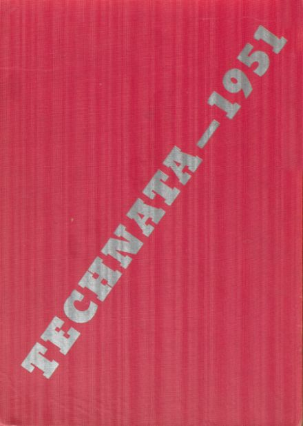 1951 Girl's Trade & Tech High School Yearbook Cover