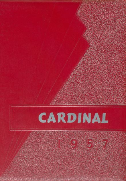 1957 Carrington High School Yearbook Cover