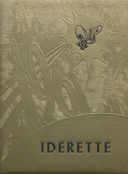 1961 Ider High School Yearbook Cover