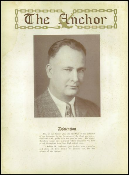 1929 Anchorage High School Yearbook Page 6