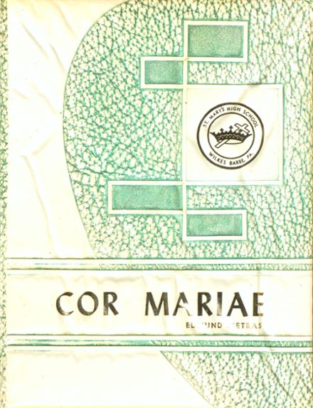 1960 St. Mary's High School Yearbook Cover
