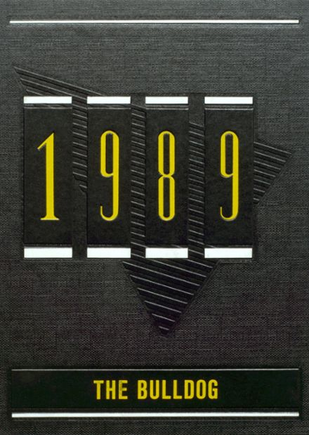 1989 Maysville High School Yearbook Cover