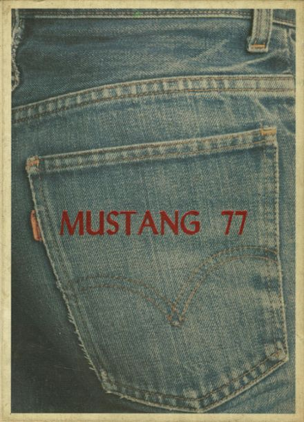 1977 Madisonville High School Yearbook Cover