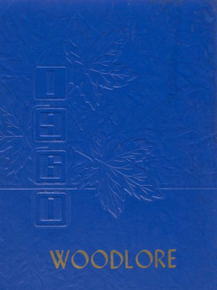 1960 Woodhull High School Yearbook Cover