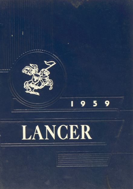 1959 Canby High School Yearbook Cover