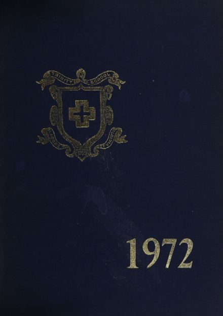 1972 Trinity School Yearbook Cover
