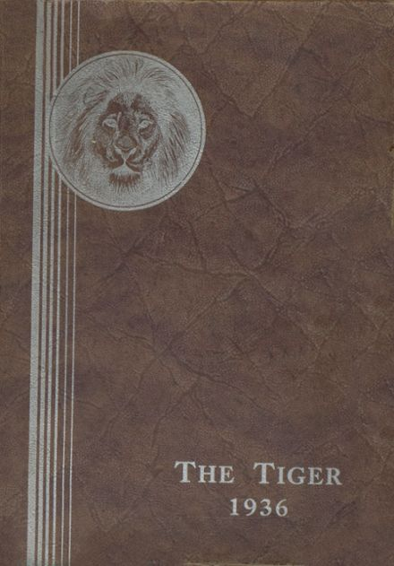 1936 Spring Valley High School Yearbook Cover
