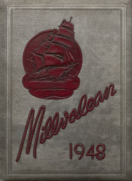 1948 Millvale High School Yearbook Cover