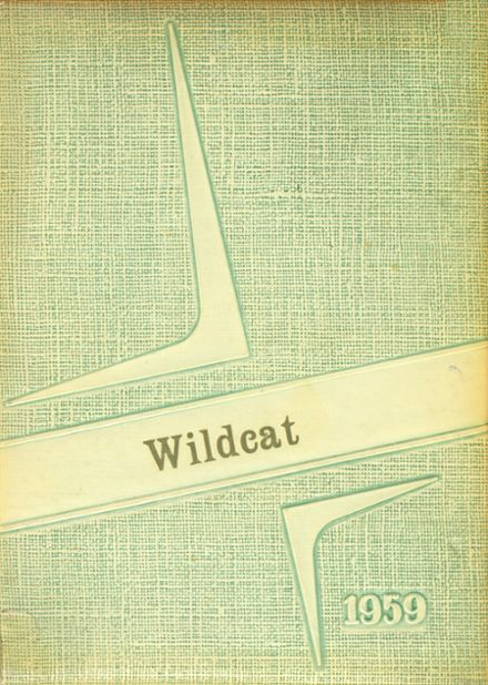 1959 Isabel High School Yearbook Cover