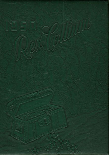 1950 Jenner-Boswell Joint High School Yearbook Cover