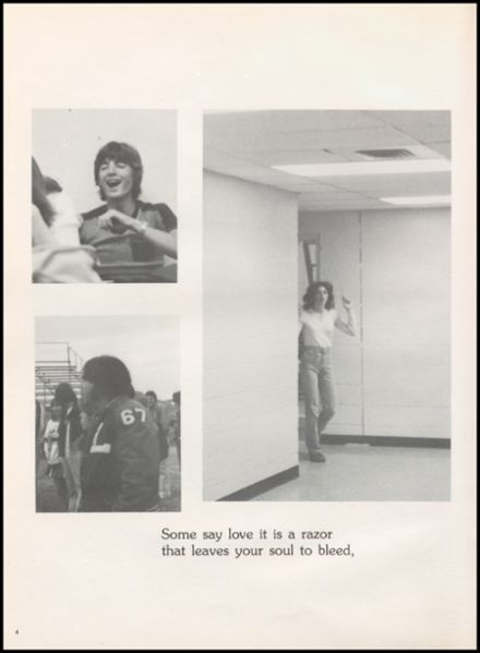 1981 Liberty High School Yearbook Page 8