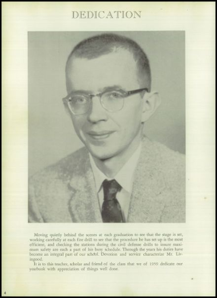 1959 Hereford High School Yearbook Page 8