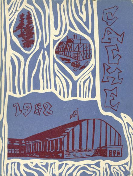 1958 Chief Sealth High School Yearbook Cover