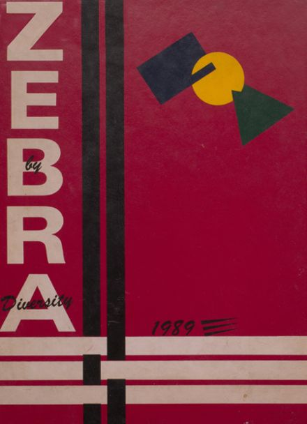 1989 Pine Bluff High School Yearbook Cover
