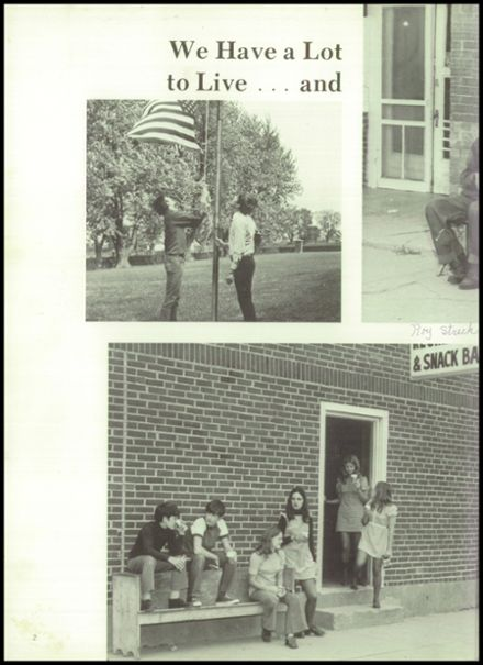 1973 Gilman City High School Yearbook Page 6