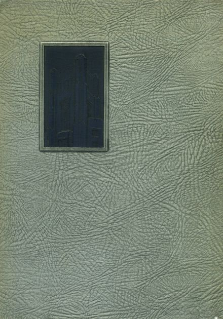 1933 Columbia High School Yearbook Cover