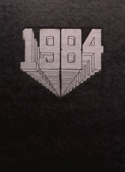 1984 Decatur High School Yearbook Cover