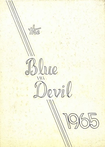 1965 St. John's High School Yearbook Cover