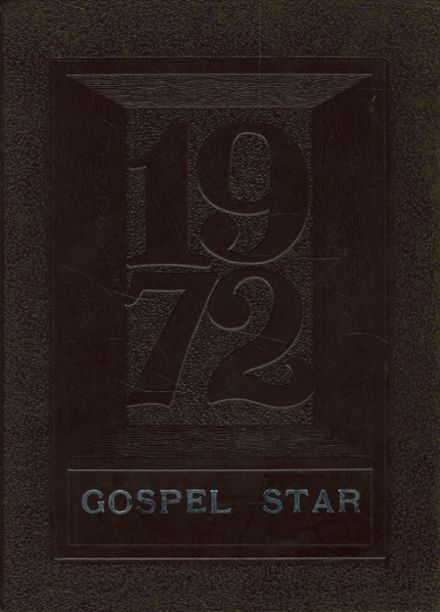 1972 Rosedale Bible College Yearbook Cover