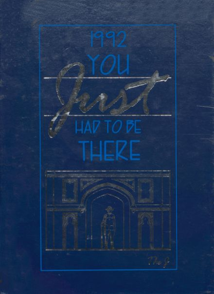 1992 Joliet Central High School Yearbook Cover