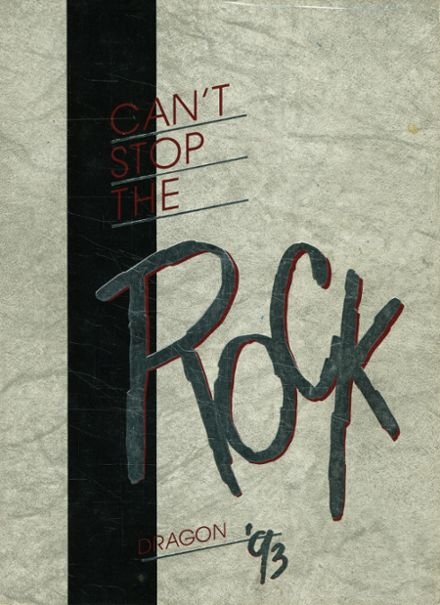 1993 Round Rock High School Yearbook Cover