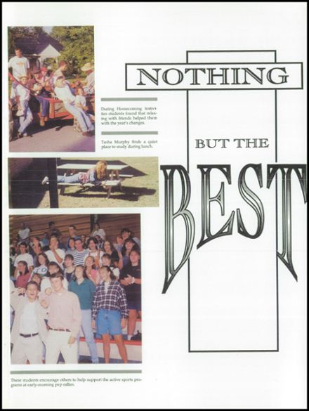 1996 Cookeville High School Yearbook Page 5